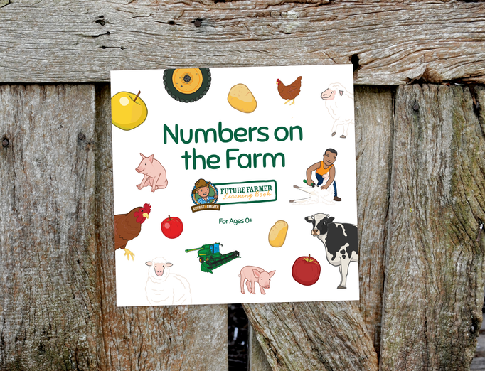 George the Farmer Numbers on the Farm Board Book