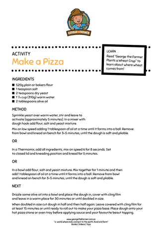 Make a Pizza from Wheat Activity