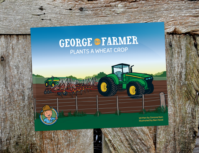 George the Farmer Plants a Wheat Crop Picture Book