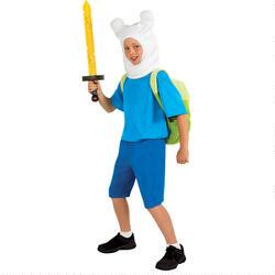 Adventure Time Finn Deluxe Child Costume