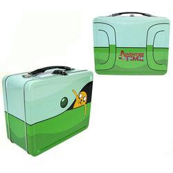 Adventure Time Traveling Jake Tin Tote Comic Con Exclusive