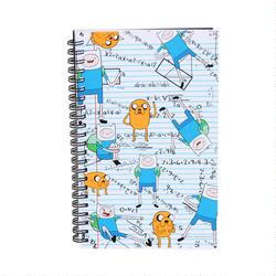 Adventure Time Finn and Jake Algebraic Notebook
