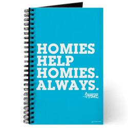 Adventure Time Homies Help Homies Notebook