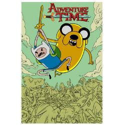 Adventure Time Jake and Finn Poster