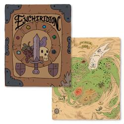 Adventure Time Enchiridion and Land of Ooo Fleece Throw Blankets