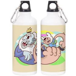 Adventure Time Finn vs. Ice King by Chogrin Water Bottle