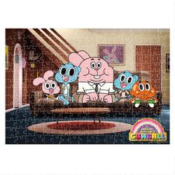 The Amazing World of Gumball Family Jigsaw Puzzle