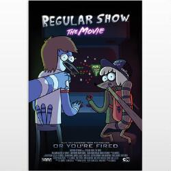 Regular Show The Movie Teaser Poster