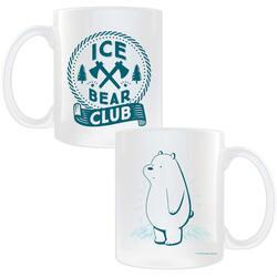 We Bare Bears Ice Bear Club White Mug