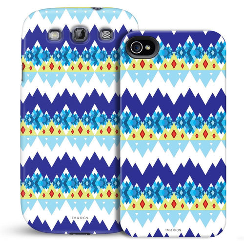 Image of Adventure Time Culture Mash Ice King Geometric Phone Case for iPhone and Galaxy
