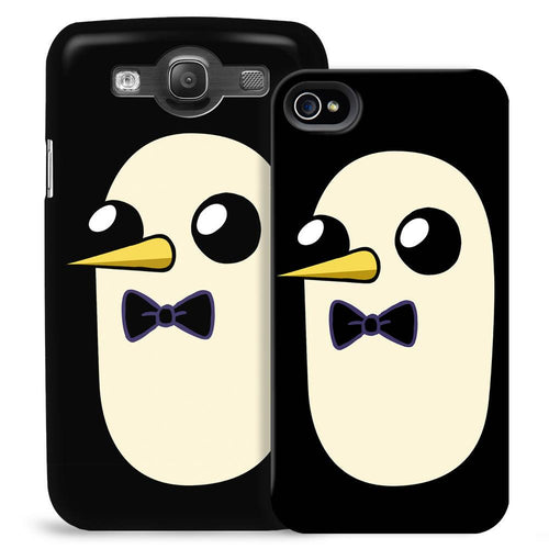 Image of Adventure Time Gunter Black Phone Case for iPhone and Galaxy