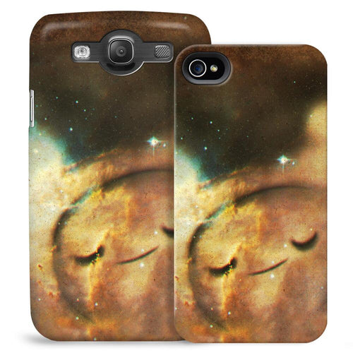 Image of Adventure Time Finn Space Clouds Phone Case for iPhone and Galaxy