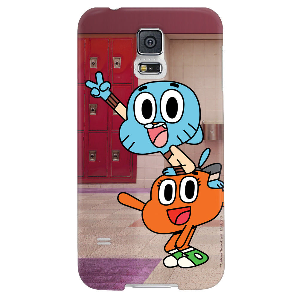 a387a1d96e The Amazing World of Gumball Darwin and Gumball Phone Case for iPhone and  Galaxy