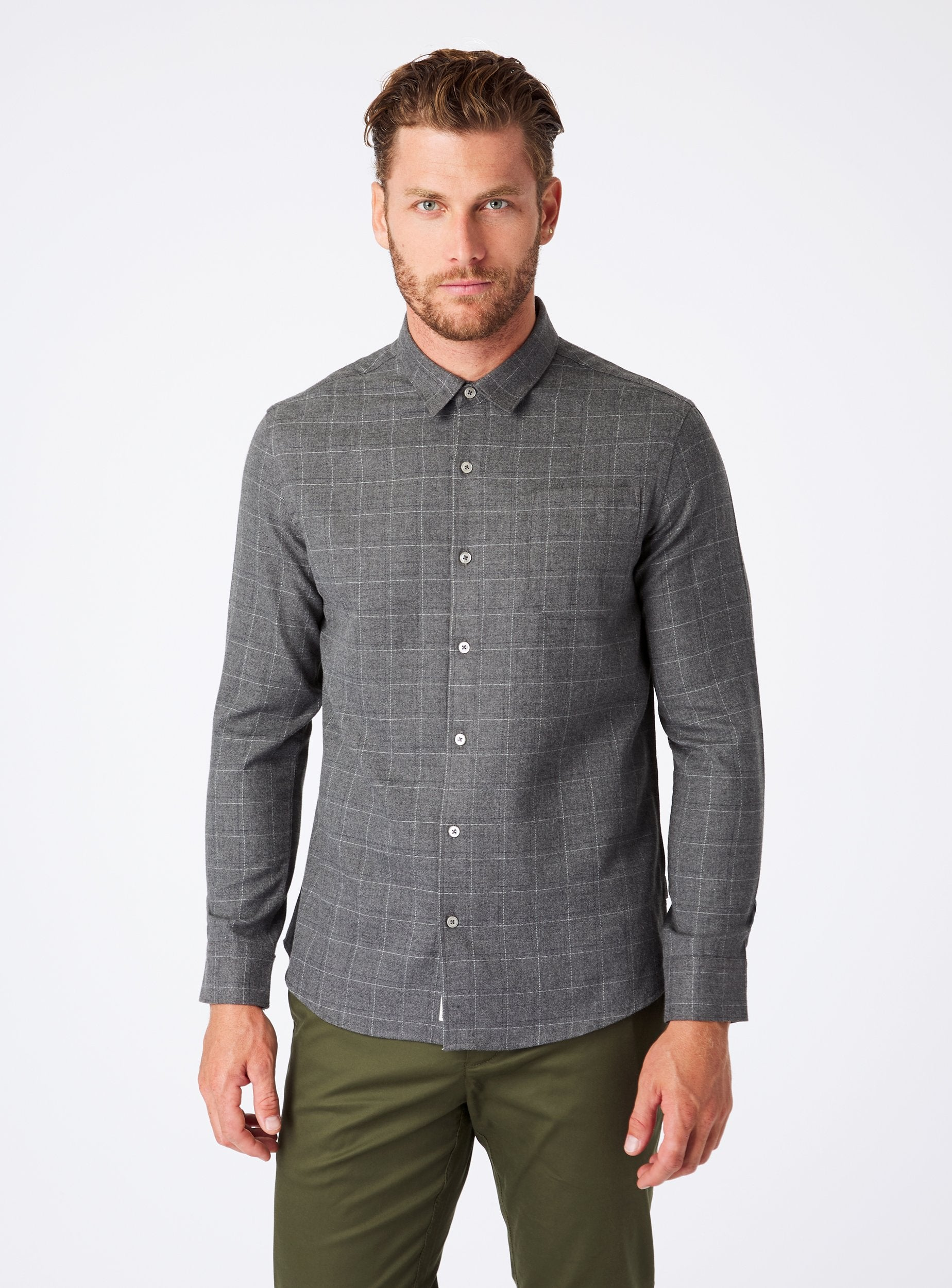 Aspen Long Sleeve Flannel Shirt