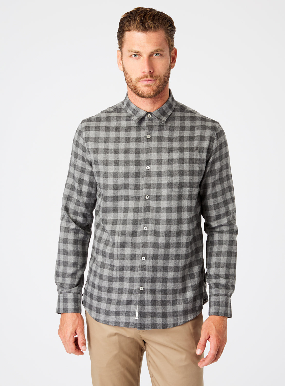 Asher Single Pocket Flannel Shirt