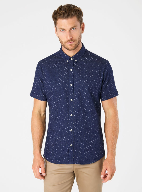 Night Shift Short Sleeve Shirt