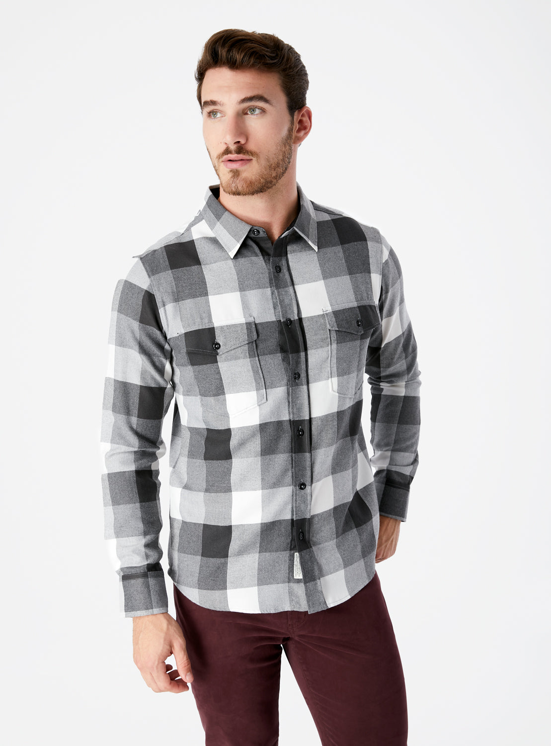 Archer Double Pocket Flannel Shirt