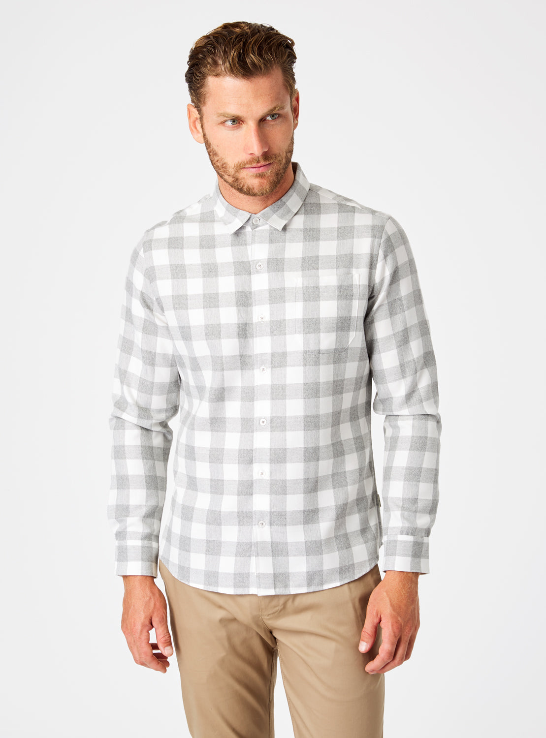 Sparrow Single Pocket Flannel Shirt