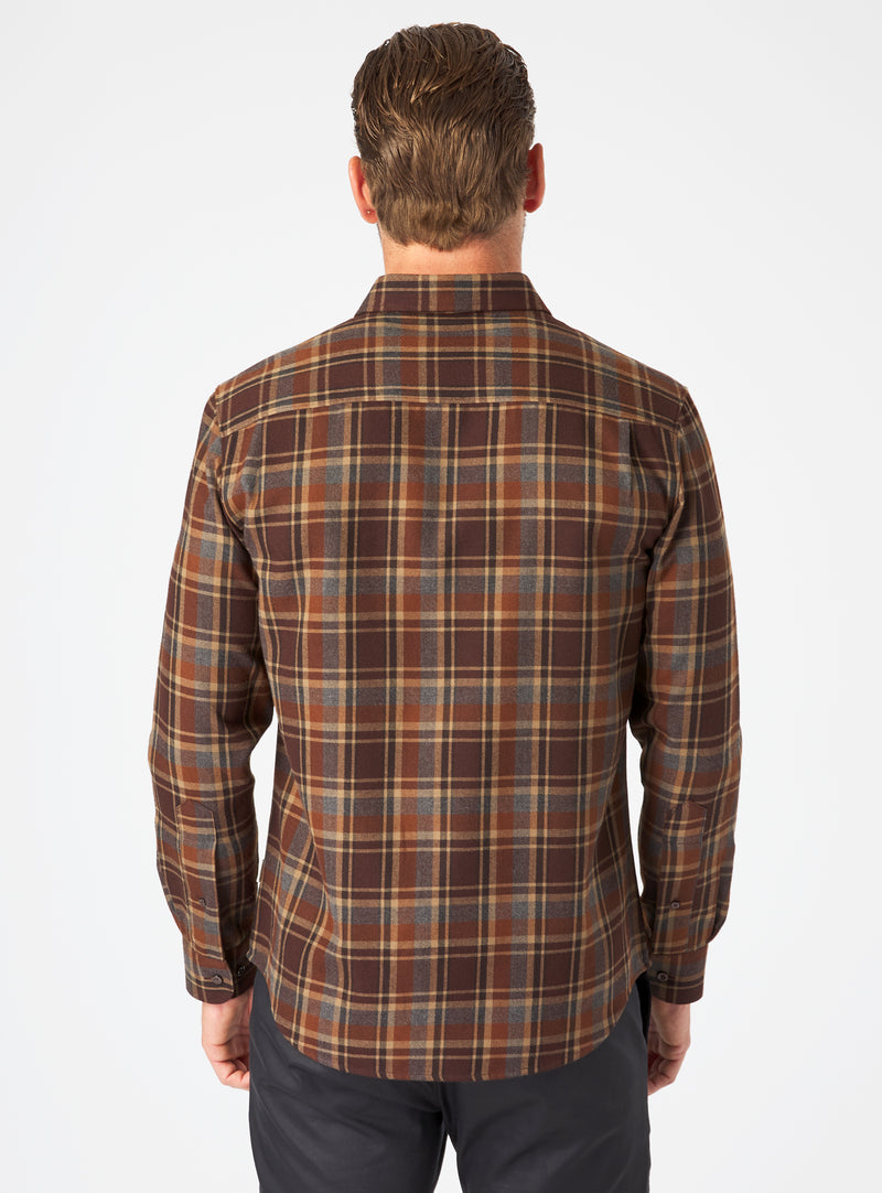 Gunnar Long Sleeve Flannel