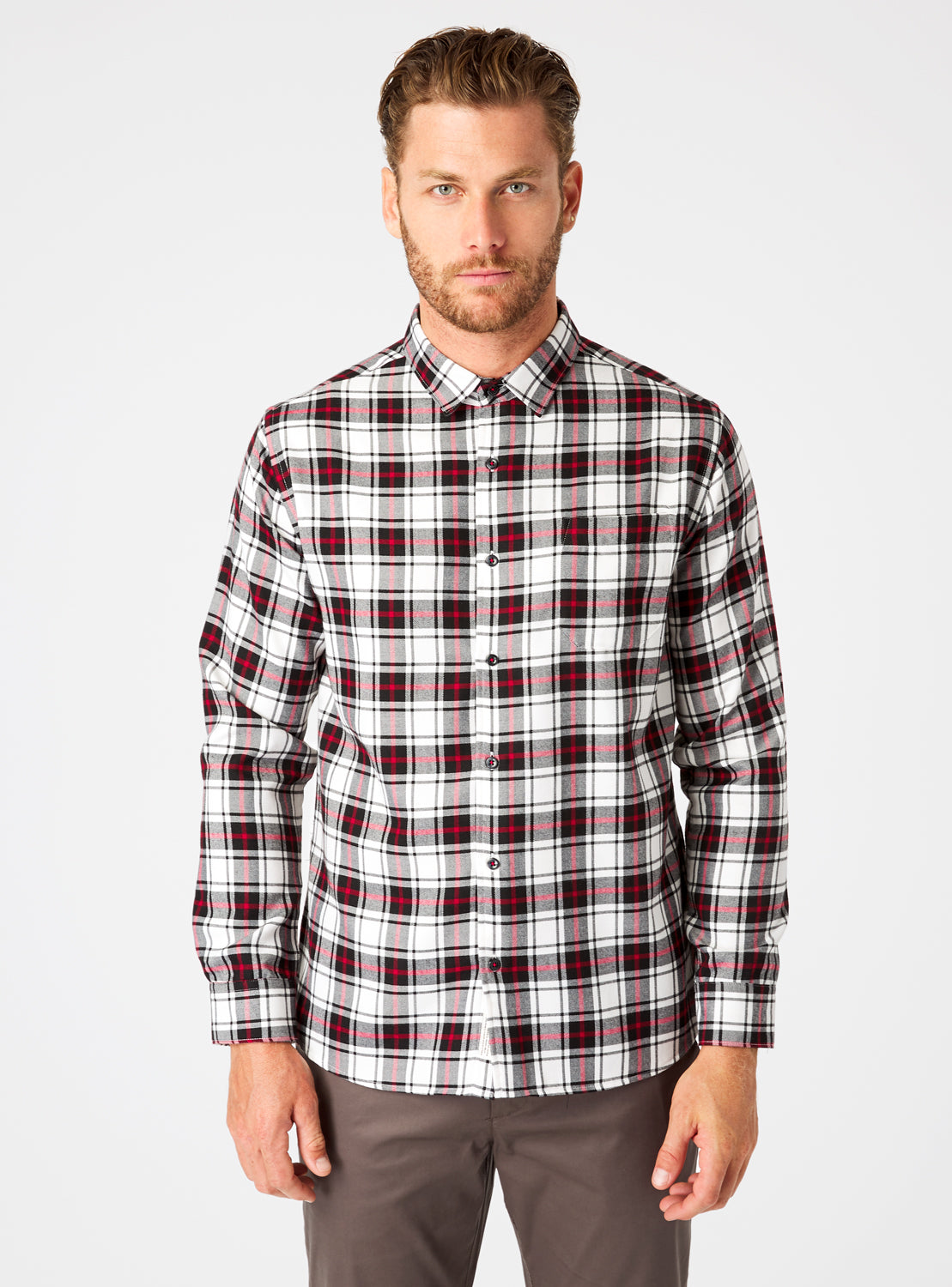 Sequoia Single Pocket Flannel Shirt