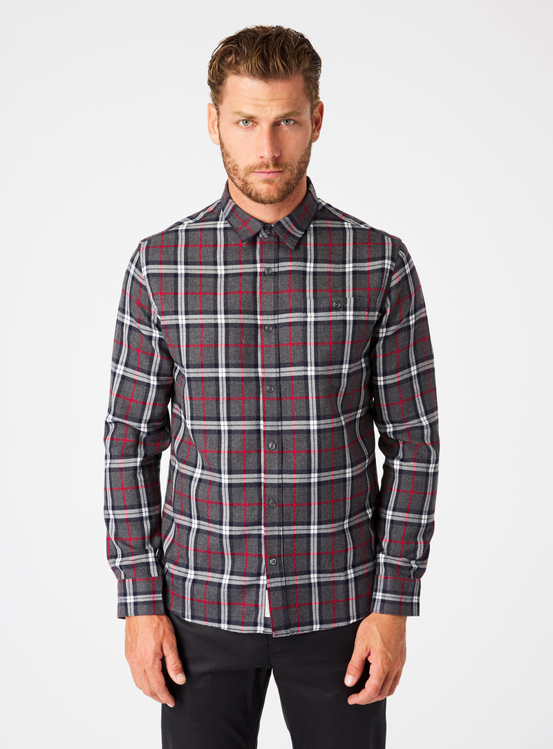Juniper Single Pocket Flannel Shirt