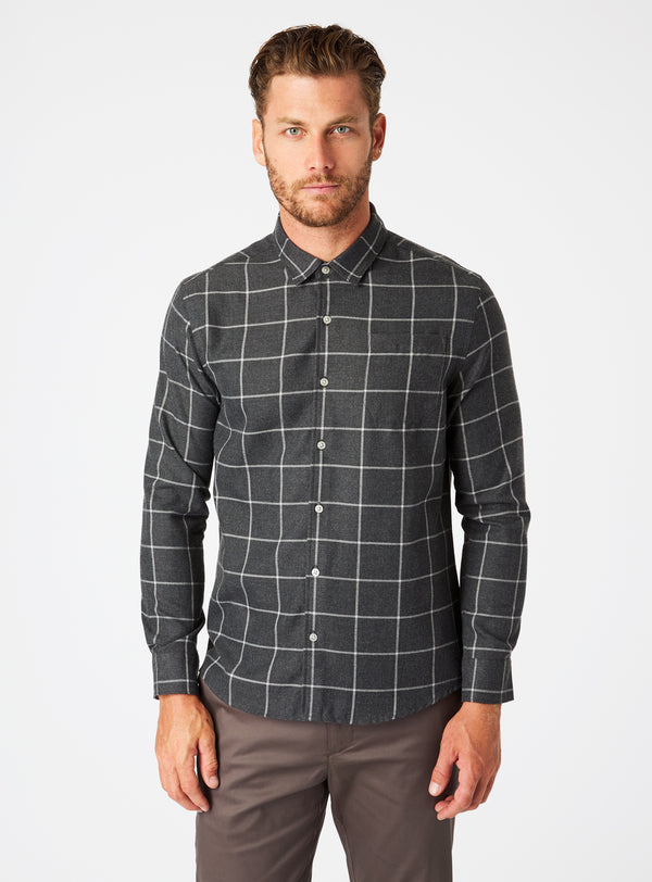 Wyatt Single Pocket Flannel Shirt