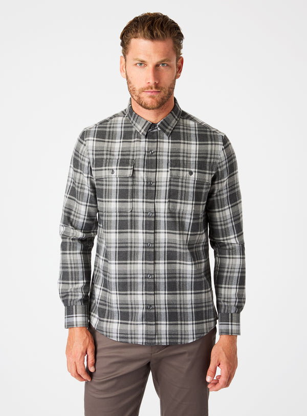 Sawyer Double Pocket Flannel Shirt