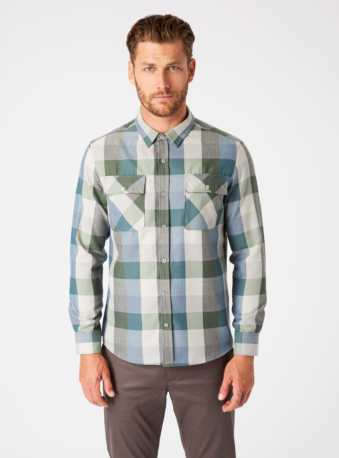 Colt Double Pocket Flannel Shirt