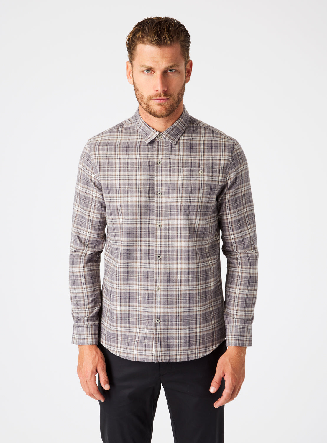 Ryder Single Pocket Flannel Shirt