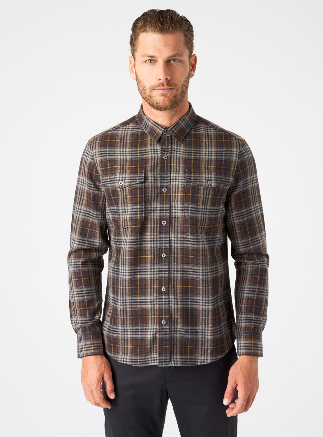 Phoenix Double Pocket Flannel Shirt