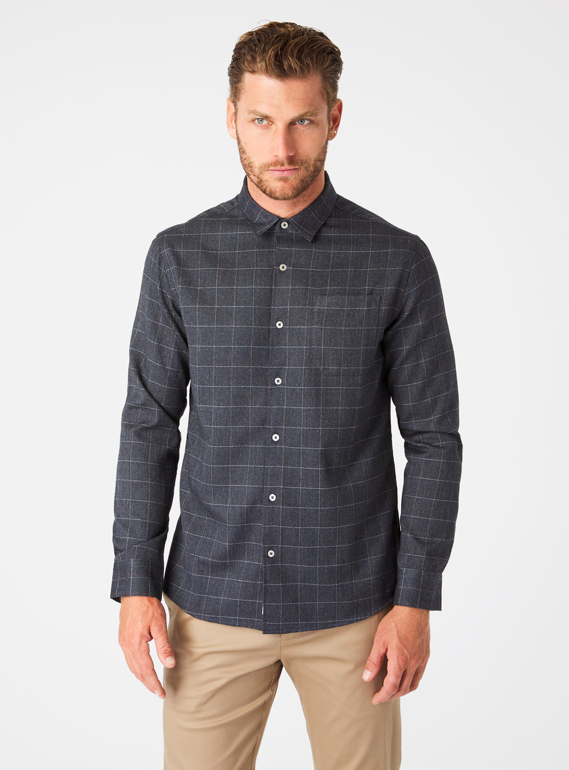 Harley Single Pocket Flannel Shirt