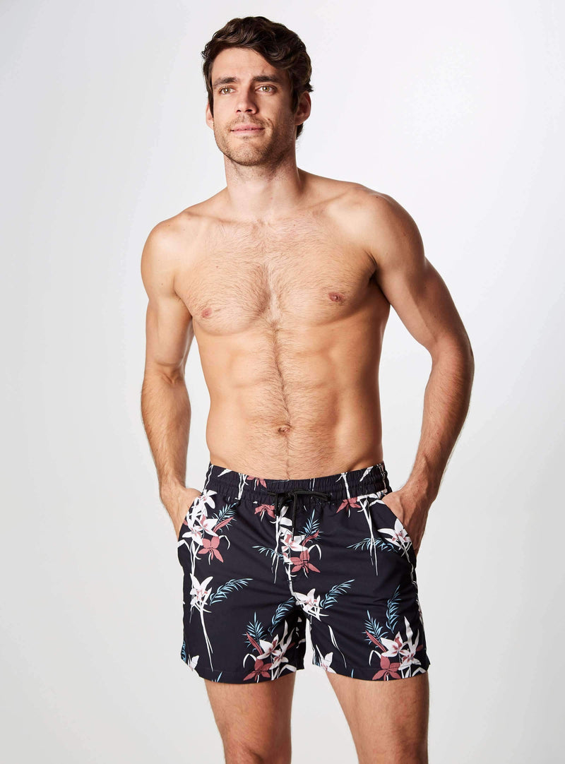 Nightshades Printed Swim Shorts,Swim Trunks,7Diamonds,7Diamonds
