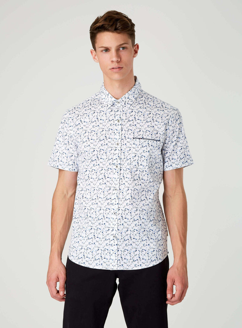 Take Shelter Short Sleeve Shirt,Short Sleeve Shirts,7Diamonds,7Diamonds