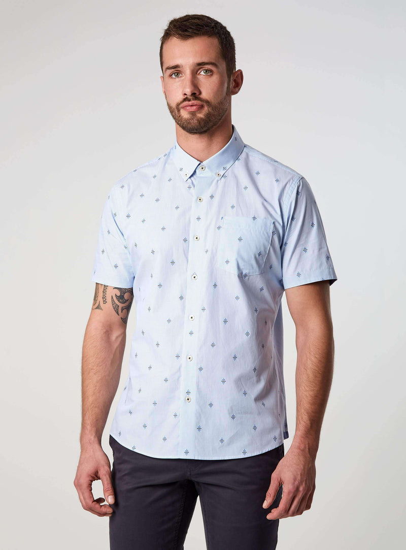 Young Galaxy Short Sleeve Shirt,Short Sleeve Shirts,7Diamonds,7Diamonds
