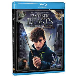 Fantastic Beasts and Where to Find Them (BD)