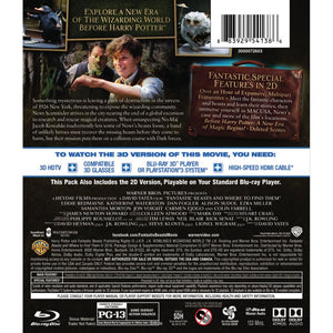 Fantastic Beasts and Where to Find Them 3D (Blu-ray 3D)
