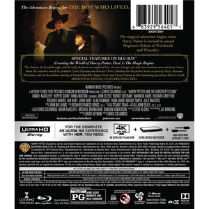 Harry Potter and the Sorcerer's Stone (4K UHD)