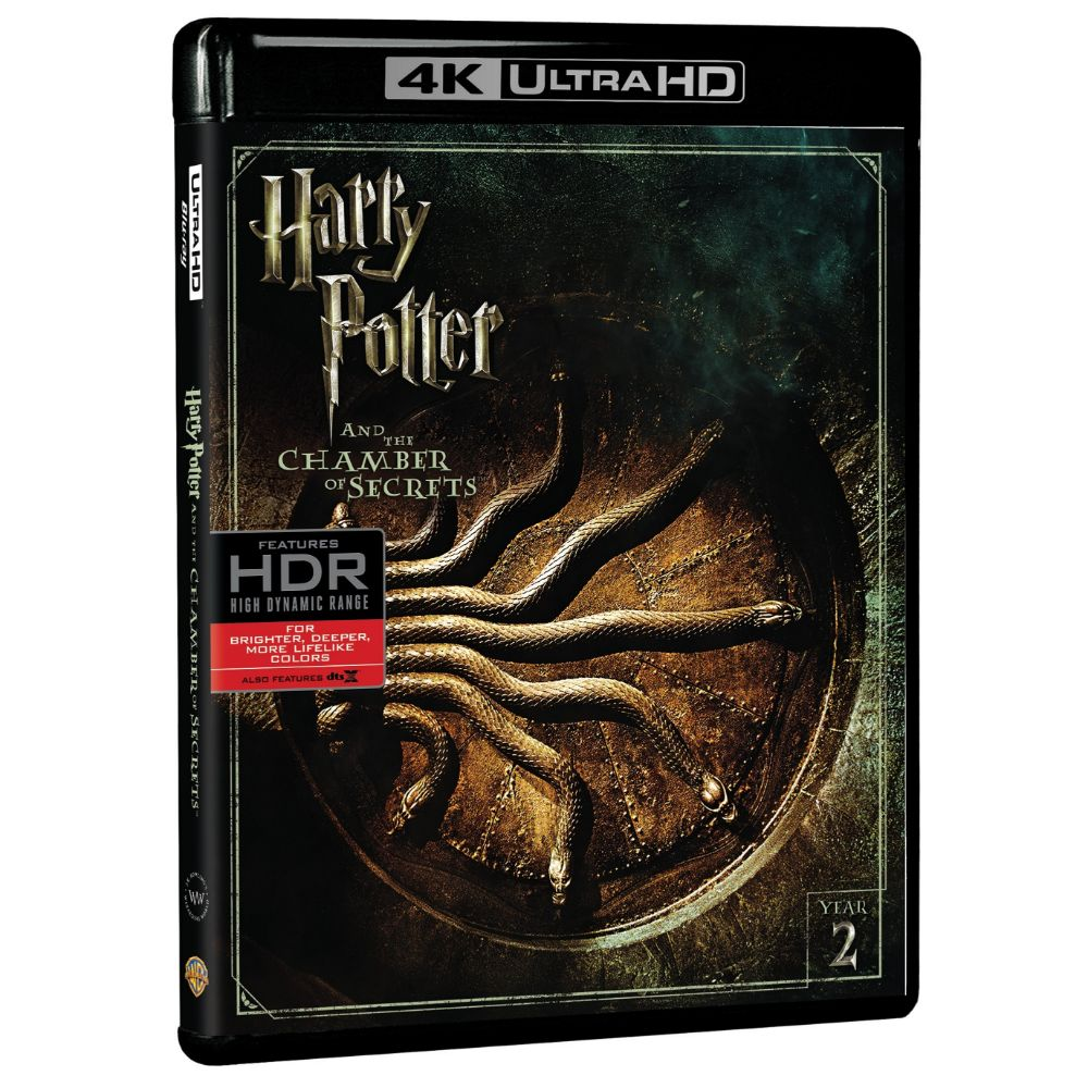 Harry Potter and the Chamber of Secrets (4K Ultra HD)