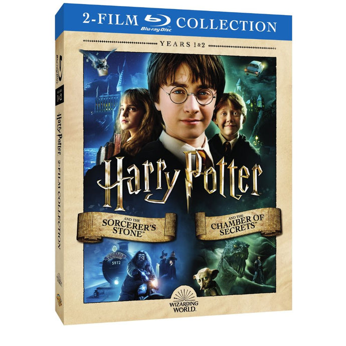 Harry Potter and the Sorcerer's Stone/Harry Potter and the Chamber of Secrets (2-Film Collection) (BD)