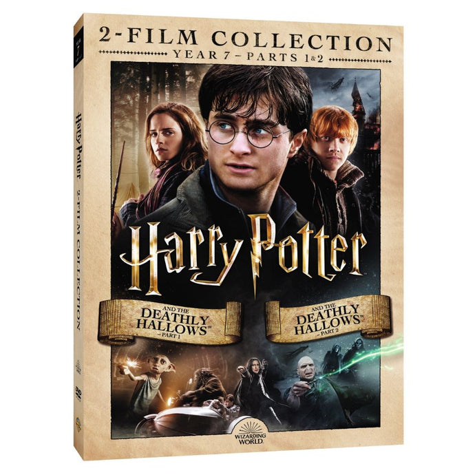 Harry Potter and the Deathly Hallows - Part 1/Harry Potter and the Deathly Hallows - Part 2 (2-Film Collection) (DVD)