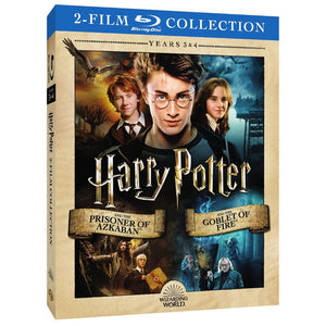 Harry Potter and the Prisoner of Azkaban/Harry Potter and the Goblet of Fire (2-Film Collection) (BD)