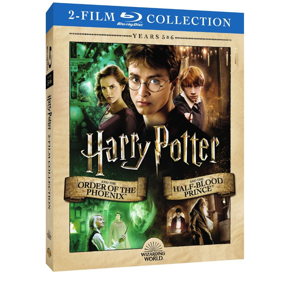 Harry Potter and the Order of the Phoenix/Harry Potter and the Half-Blood Prince (2-Film Collection) (BD)