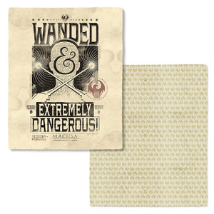 FANTASTIC BEASTS AND WHERE TO FIND THEM™ Wanded & Extremely Dangerous Soft Fleece Blanket