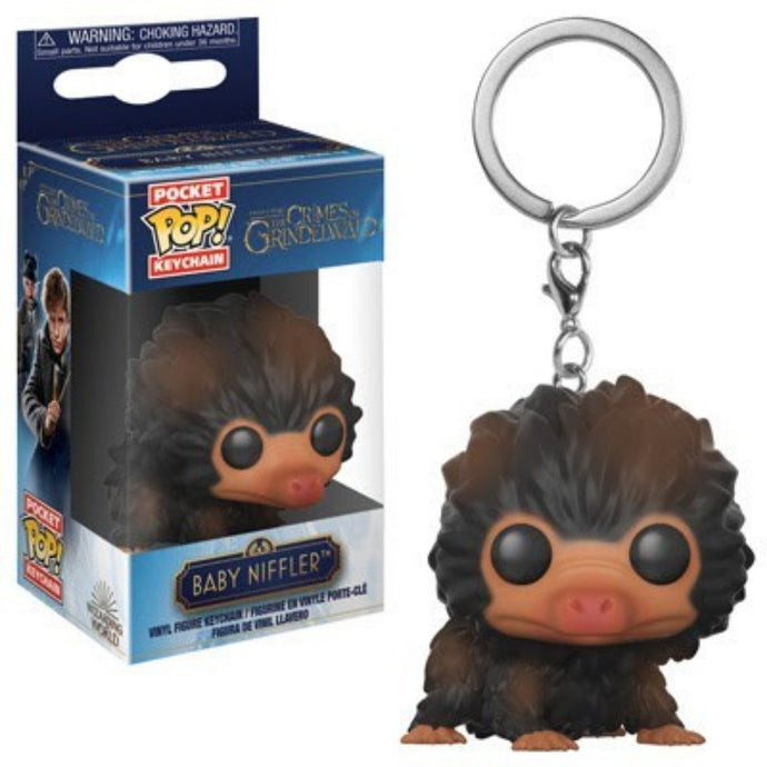 FANTASTIC BEASTS: THE CRIMES OF GRINDELWALD™ Baby Niffler™ (Brown) Pop! Keychain