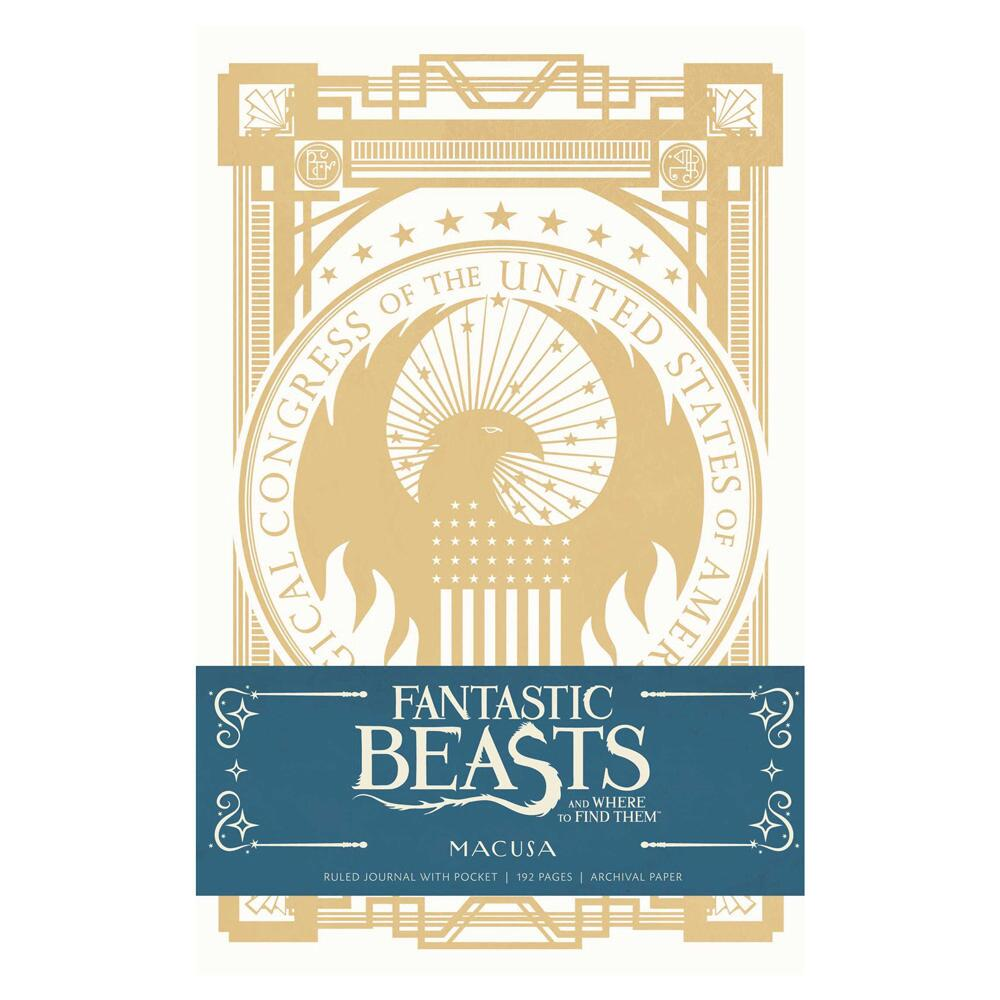 FANTASTIC BEASTS AND WHERE TO FIND THEM™ MACUSA Hardcover Ruled Journal