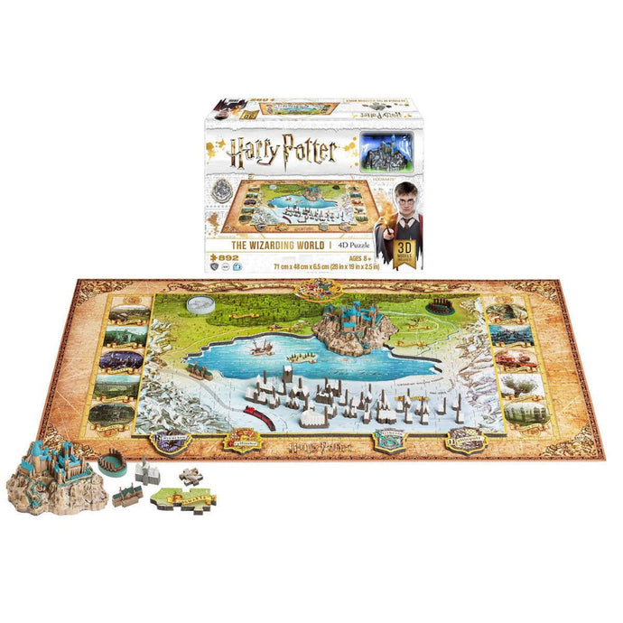 Harry Potter The Wizarding World 4D Puzzle