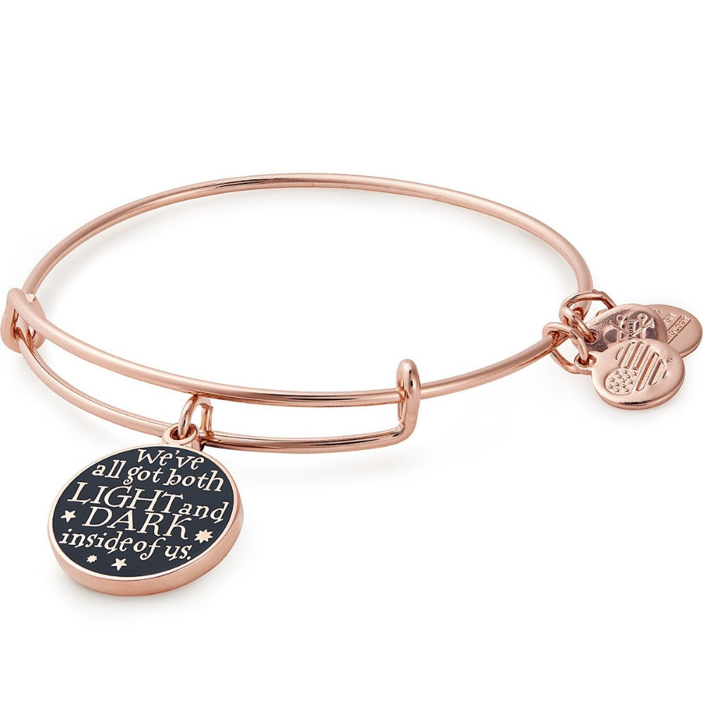 ALEX AND ANI Harry Potter Light and Dark Charm Bangle