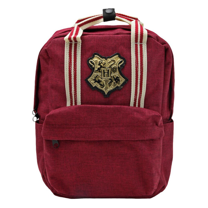 Harry Potter Hogwarts Metal Crest Mini Backpack