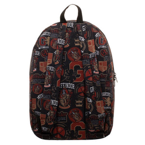 Harry Potter Gryffindor Emblems & Mottos Backpack