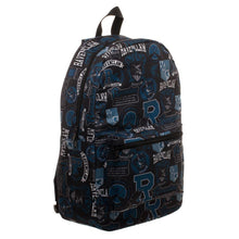 Harry Potter Ravenclaw Emblems & Mottos Backpack